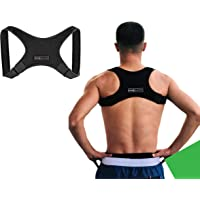 Posture Corrector for Men and Women Discreet Under Clothes Comfortable and Effective Clavicle Brace for Neck Shoulder Back Pain Relief Fully Adjustable Spinal Brace for Slouching