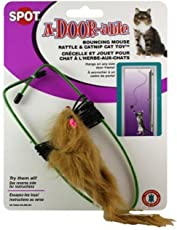 Ethical A-Door-Able Bouncing Mouse Cat Toy, Assorted Colors