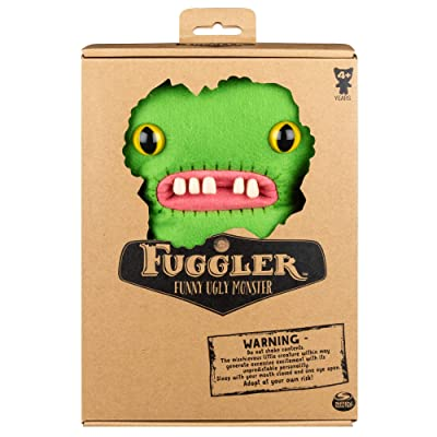 "Fuggler 9"" Medium Green Gap-Tooth McGoo Plush: Toys & Games"