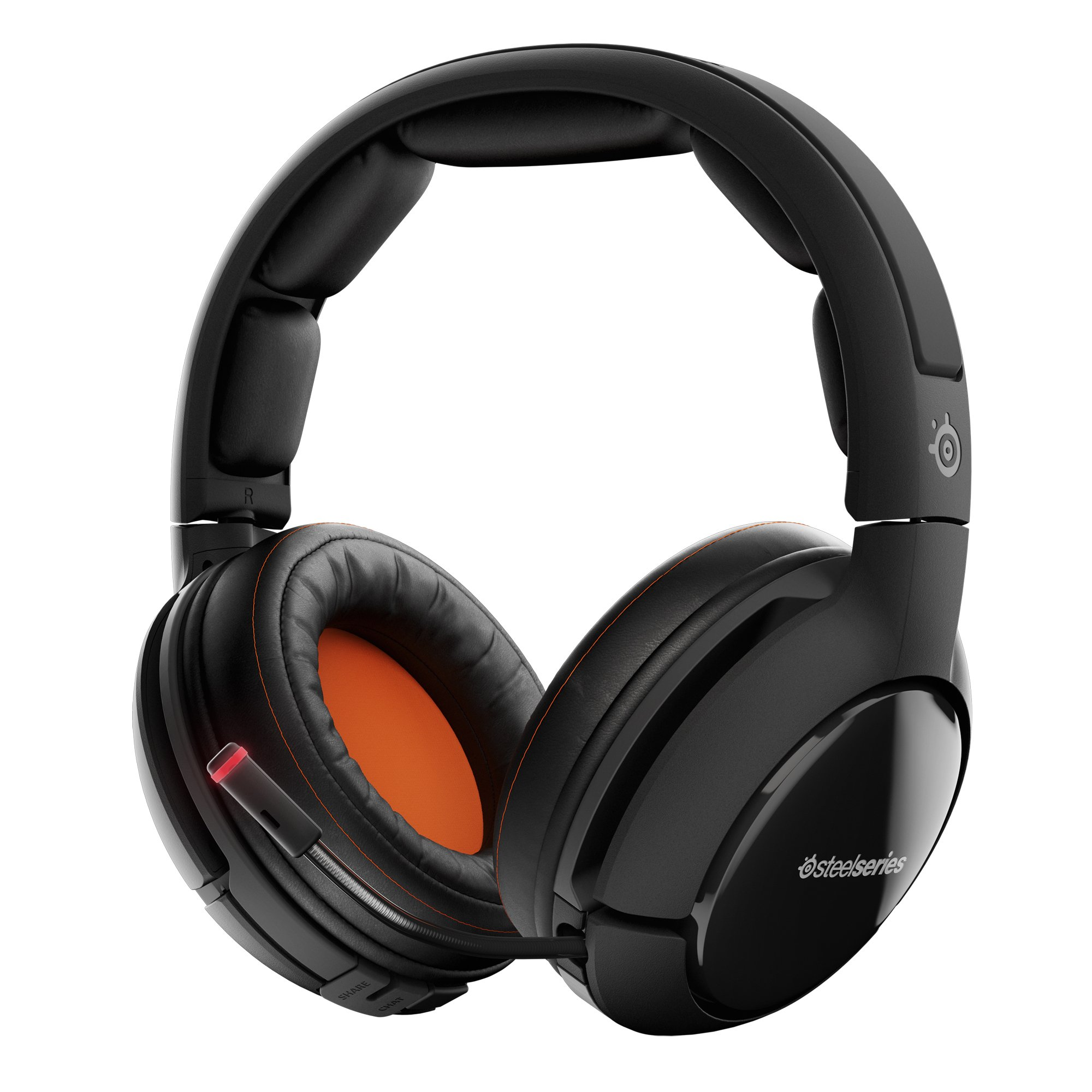 SteelSeries Siberia 800 Lag-Free Wireless Gaming Headset with OLED Transmitter and Dolby 7.1 Surround Sound by SteelSeries