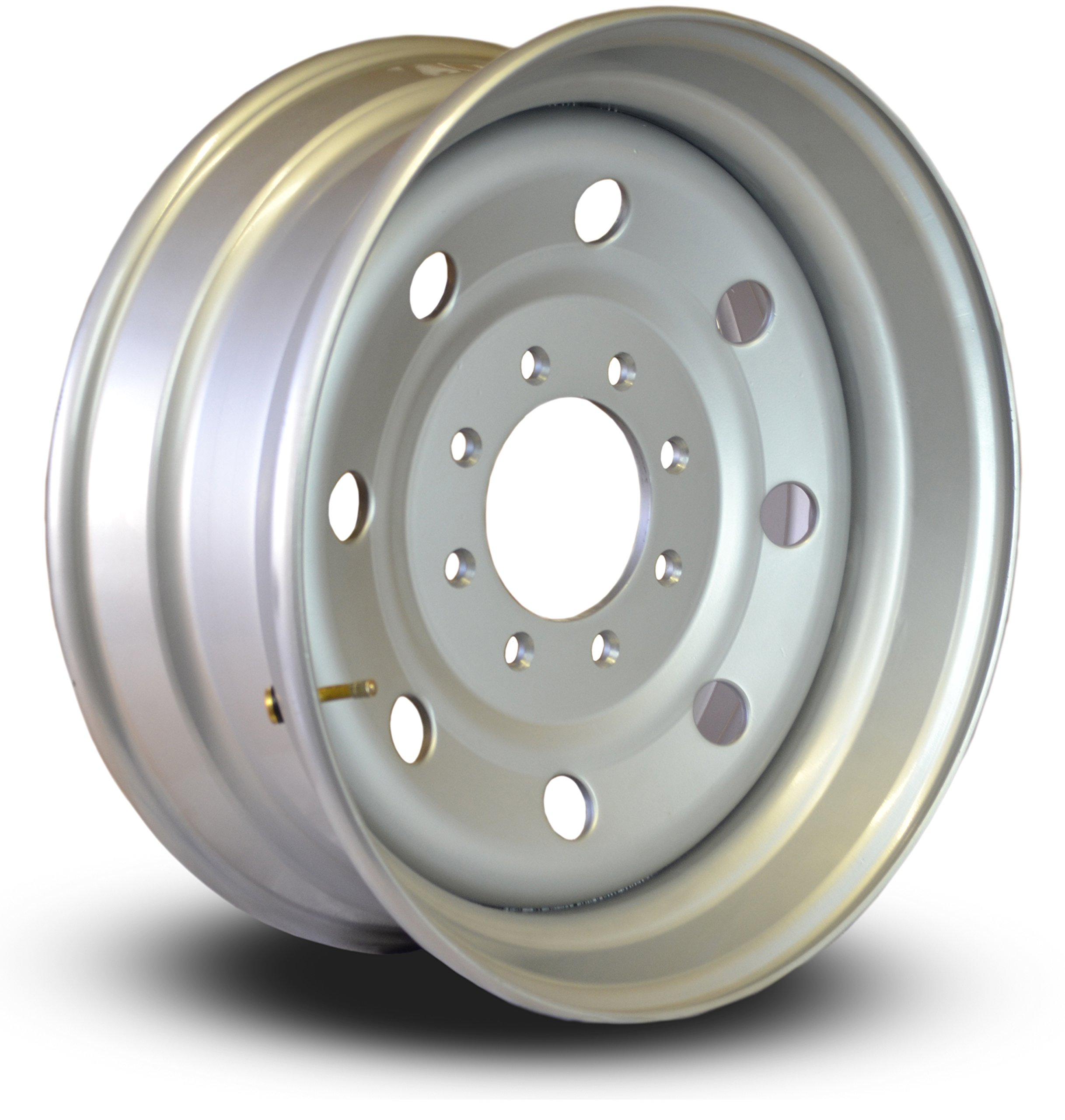 19.5 x6'' Steel Wheels (235/80R16 and 235/85R16 Trailer Tire Replacement. Perfect for Horse Trailers, Stock Trailers, Dump Trailer, and Flatbed conversion to 225/70R19.5)