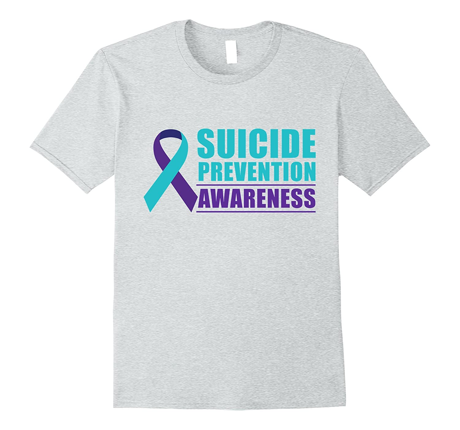 6d9175cfb Suicide Prevention Awareness T Shirt Funny Gift Tee-ANZ ⋆ Anztshirt