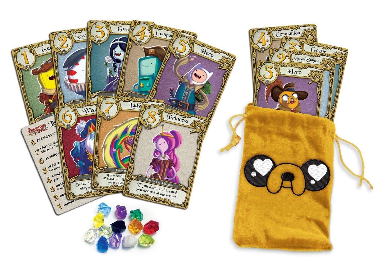 ラブレター アドベンチャータイム (ポーチ) (Love Letter: Adventure Time) (Clamshell Edition) [並行輸入品] カードゲーム B01H6PR5OU