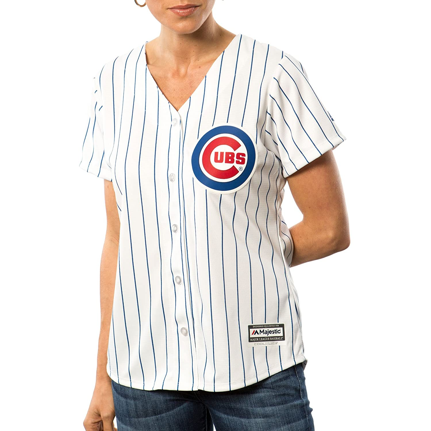 Majestic Authentic Cool Base Jersey - Chicago Cubs