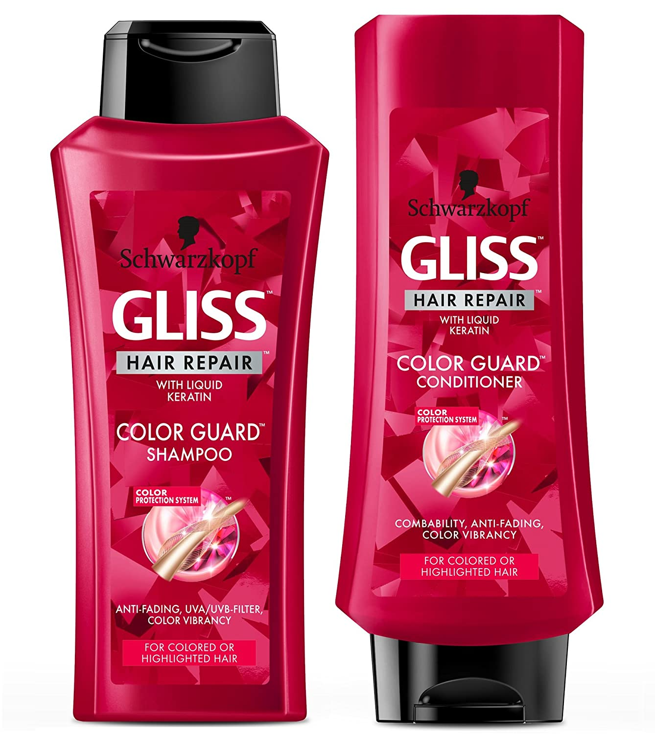 Amazon Gliss Hair Repair Color Guard Set With Shampoo And
