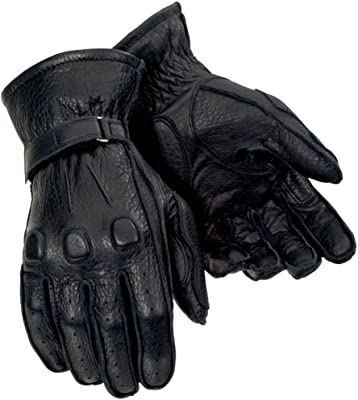 Tourmaster Deerskin Black Leather Gloves