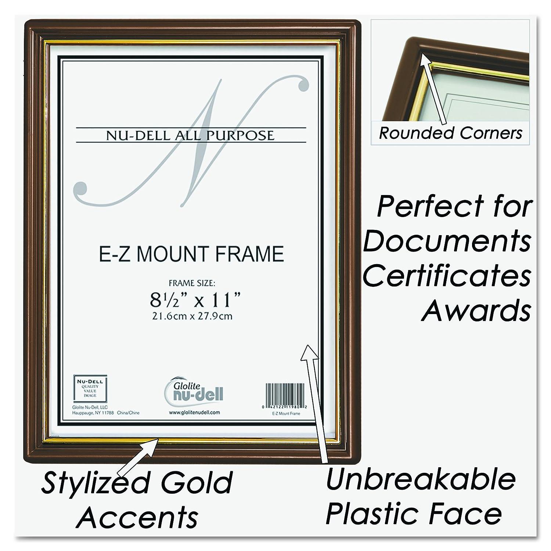 amazon nudell 85 x 11 ez mount economy document frame amazon nudell 85 x 11 ez - Document Frames 85 X 11