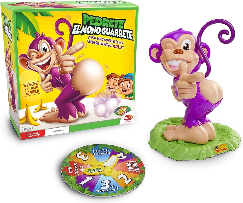 Juegos Bizak Pedrete el Mono Guarrete (BIZAK 62468742): Amazon.es: Juguetes y juegos