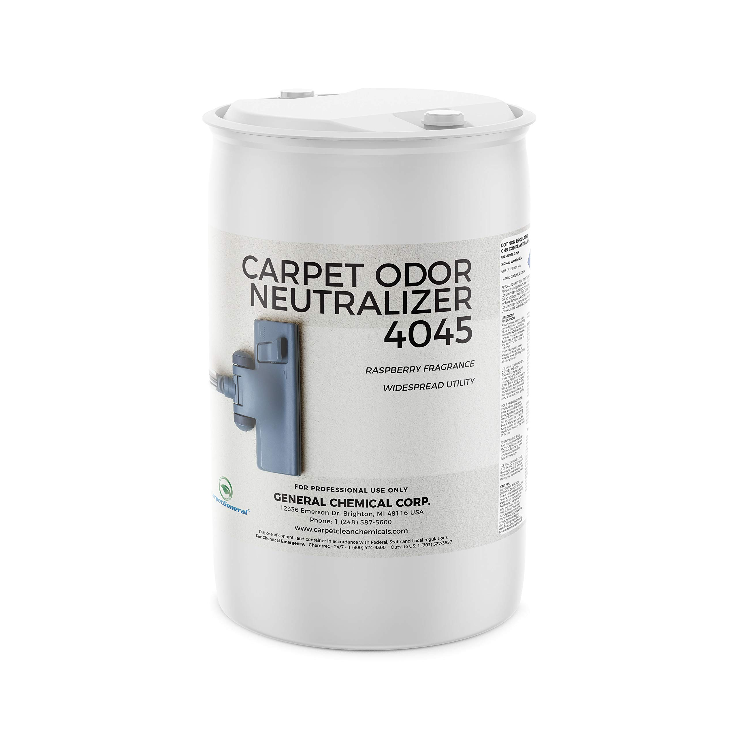 - Carpet Odor Neutralizer by CarpetGeneral | Deodorizer | Multi Surface | Water-Soluble | Residential & Commercial Use | Multi Purpose | Raspberry Scent | 55 Gallons