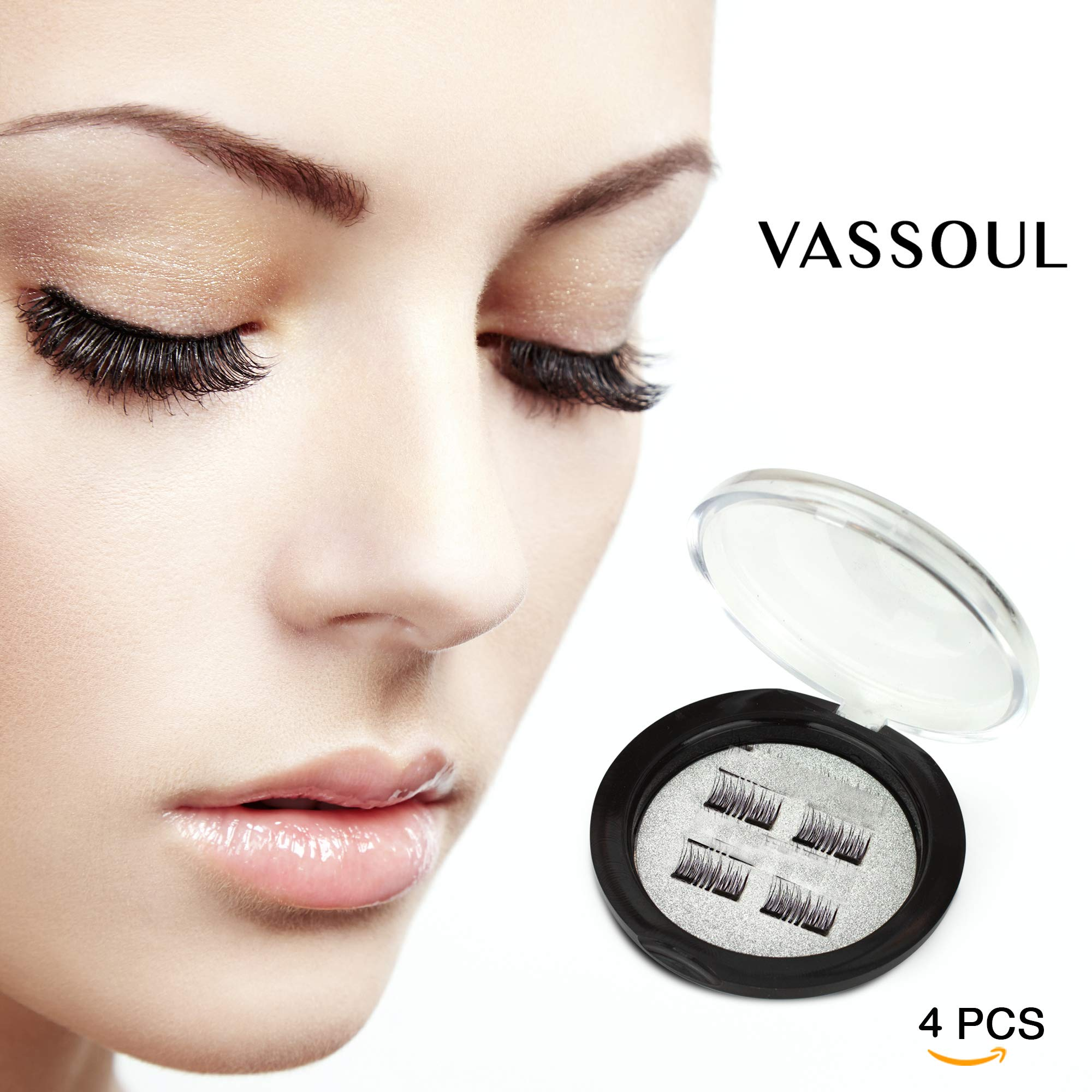 83d2f33c64a VASSOUL Dual Magnetic Eyelashes-0.2mm Ultra Thin Magnet-Lightweight & Easy  ...