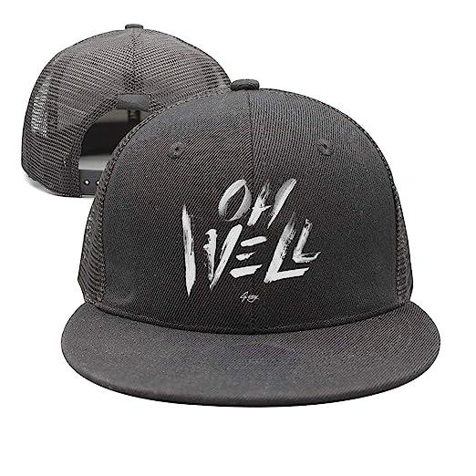 Amazon.com  WaveC Unisex G-Eazy-Oh-Well- Adjustable Mesh Trucker hat ... e52b38154b6a