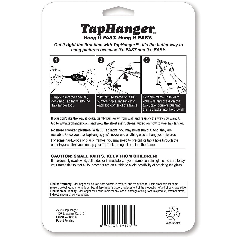TapHanger Picture Frame Hanging Kit - - Amazon.com