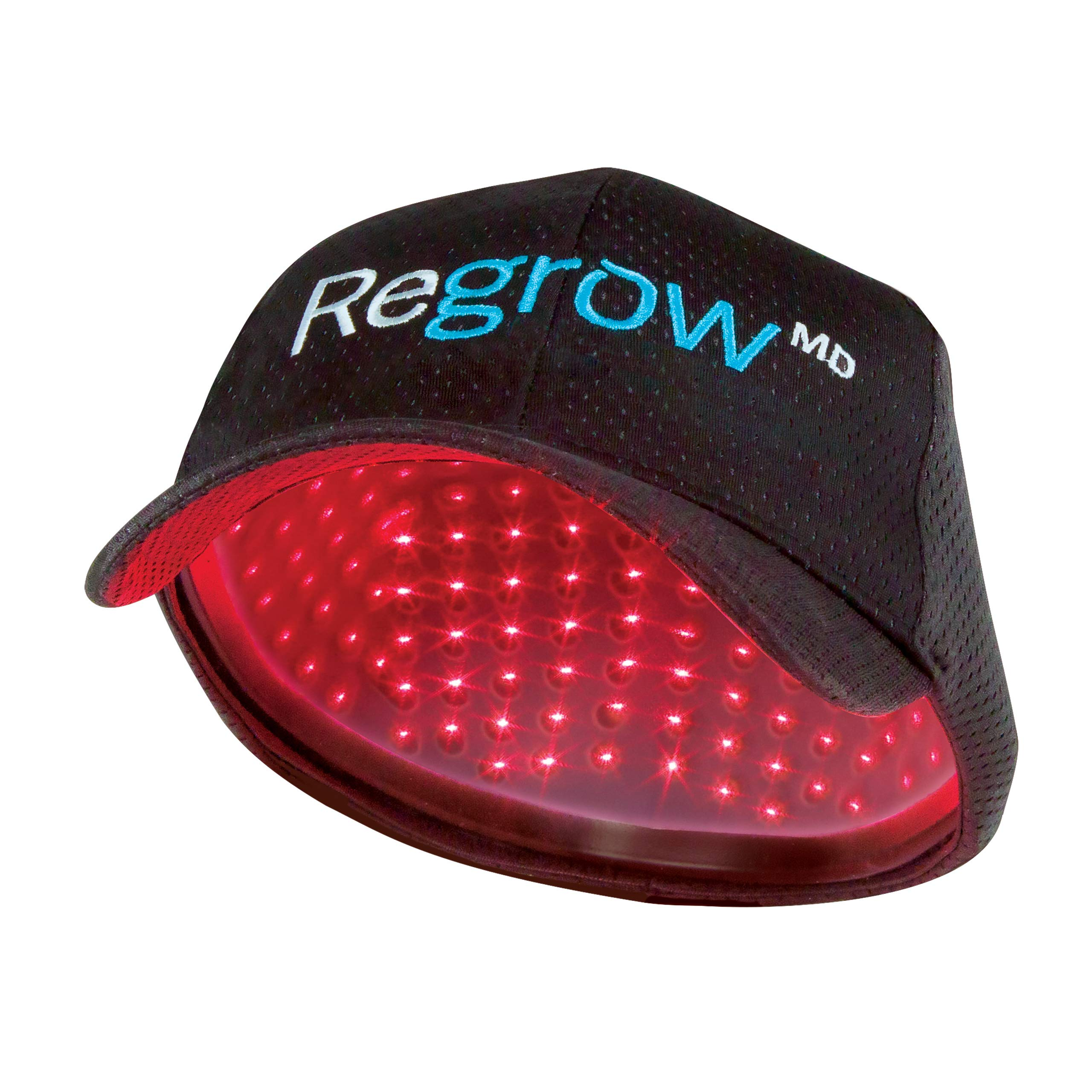 RegrowMD Laser Cap 272 (FDA Cleared). 272 Medical Grade Lasers. Stimulate Hair Growth, Reverse Thinning, Regrow Denser, Fuller Hair. Exclusive BioLight Comfort Design, Superior Treatment. by HairMax
