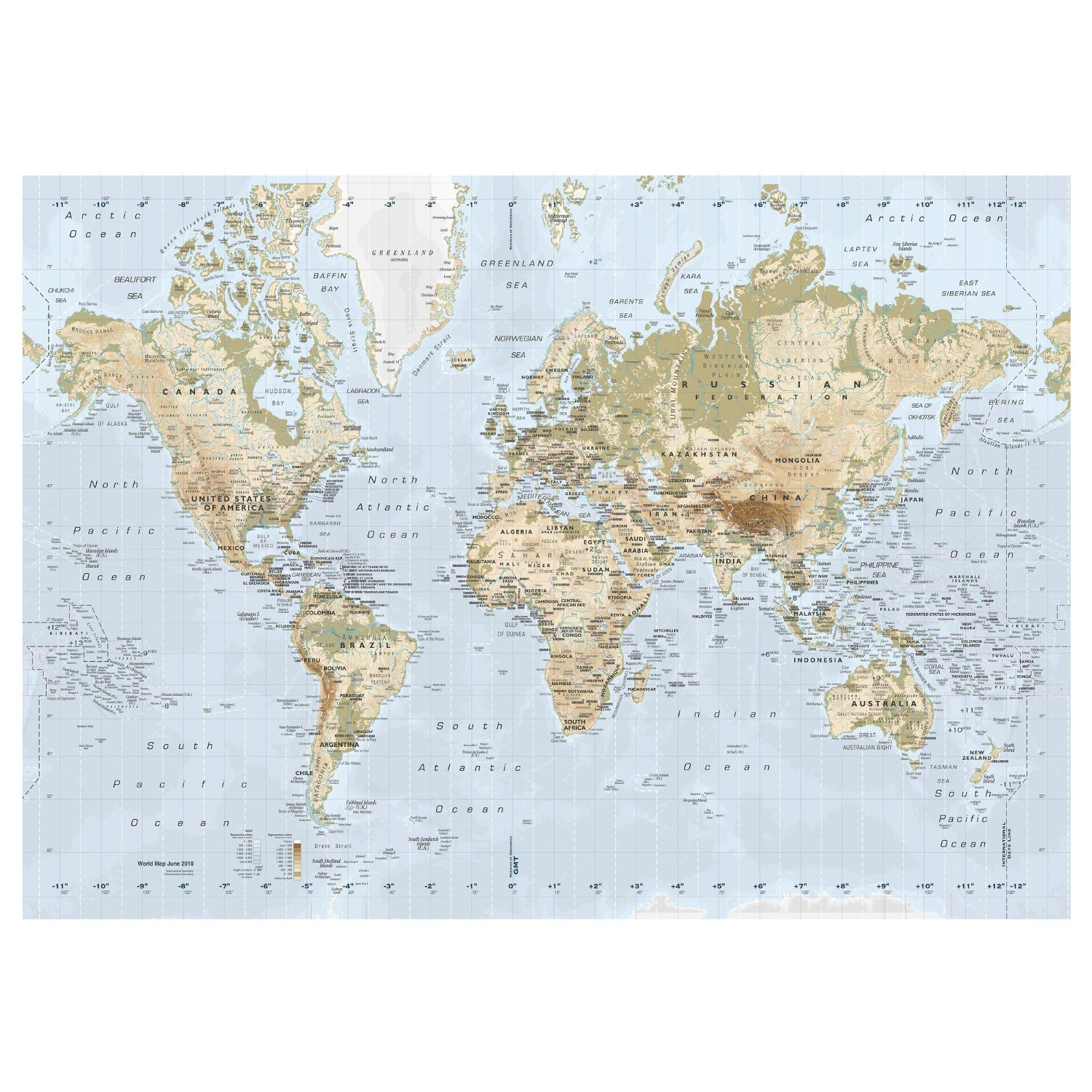 Amazon new ikea premiar world map picture with framecanvas amazon new ikea premiar world map picture with framecanvas large 55 x 78 inches canvas panels posters prints gumiabroncs Gallery