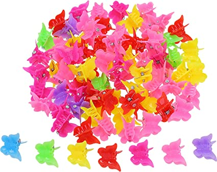 Accessories Candy Color Mini Claw Hair Clips Flower Hairpins Hair Claw Clip