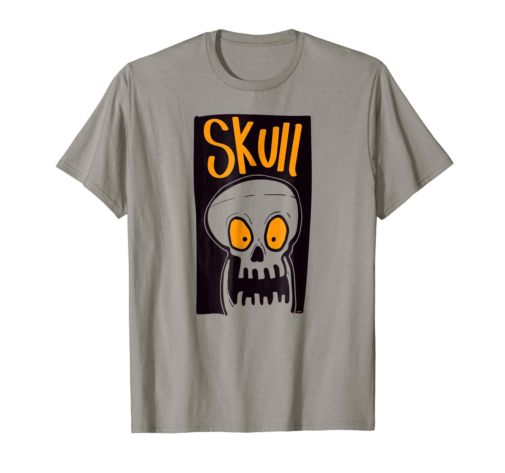 Scared-Skull-Halloween-costume-T-Shirt-Tee-Gift