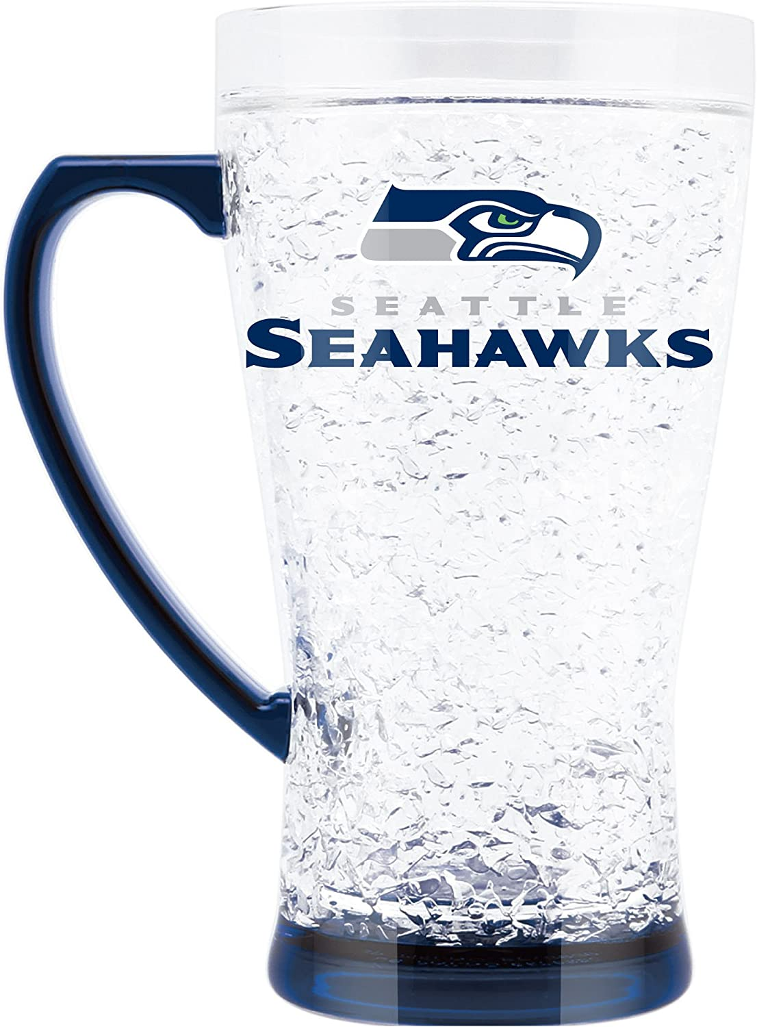 NFL Seattle Seahawks 16oz Crystal Freezer Flared Mug