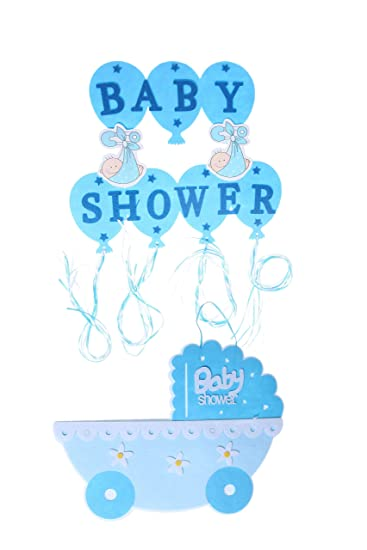 Amazon.com : Baby Shower Decorations - Gender Reveal Party Supplies ...
