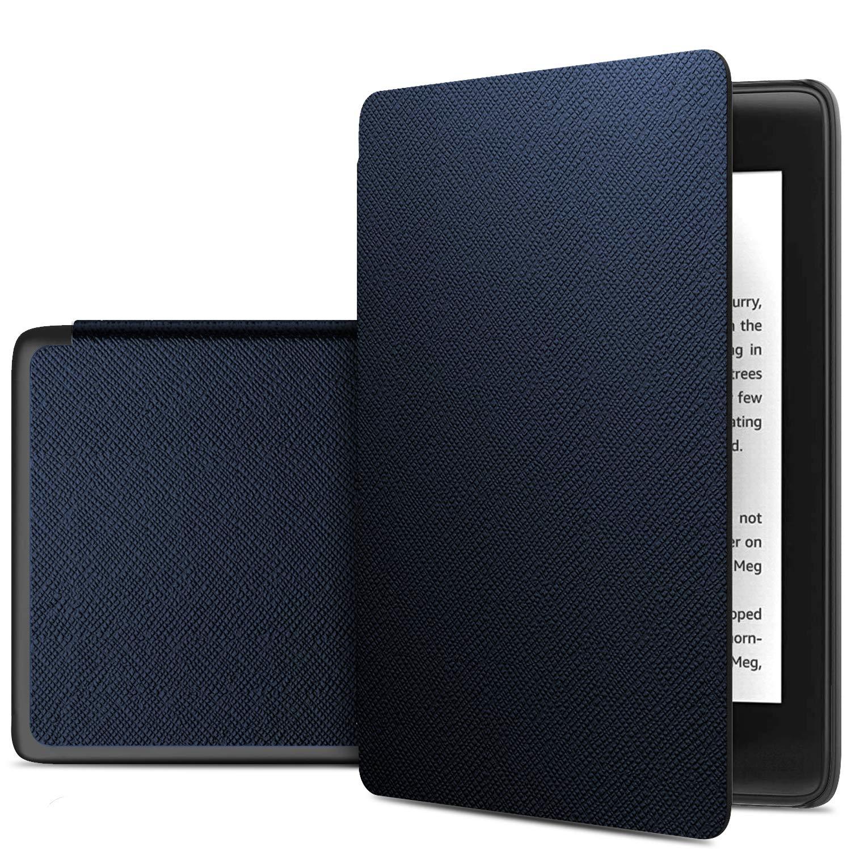 10th Generation, 2019 Slim PU Protectora Carcasa Cover para Nuevo Kindle E-Reader IVSO Funda Carcasa para Nuevo Kindle 10/ª generaci/ón, versi/ón 2019 Azure
