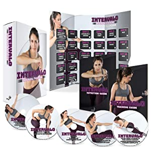 INTERVALO: 30 Day Workout Program with 5 Exercise Videos + Training Calendar, Training Guide and Nutrition Plan