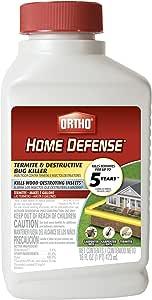 Ortho Home Defense Termite & Destructive Bug Killer* * in MA, NY, or RI.