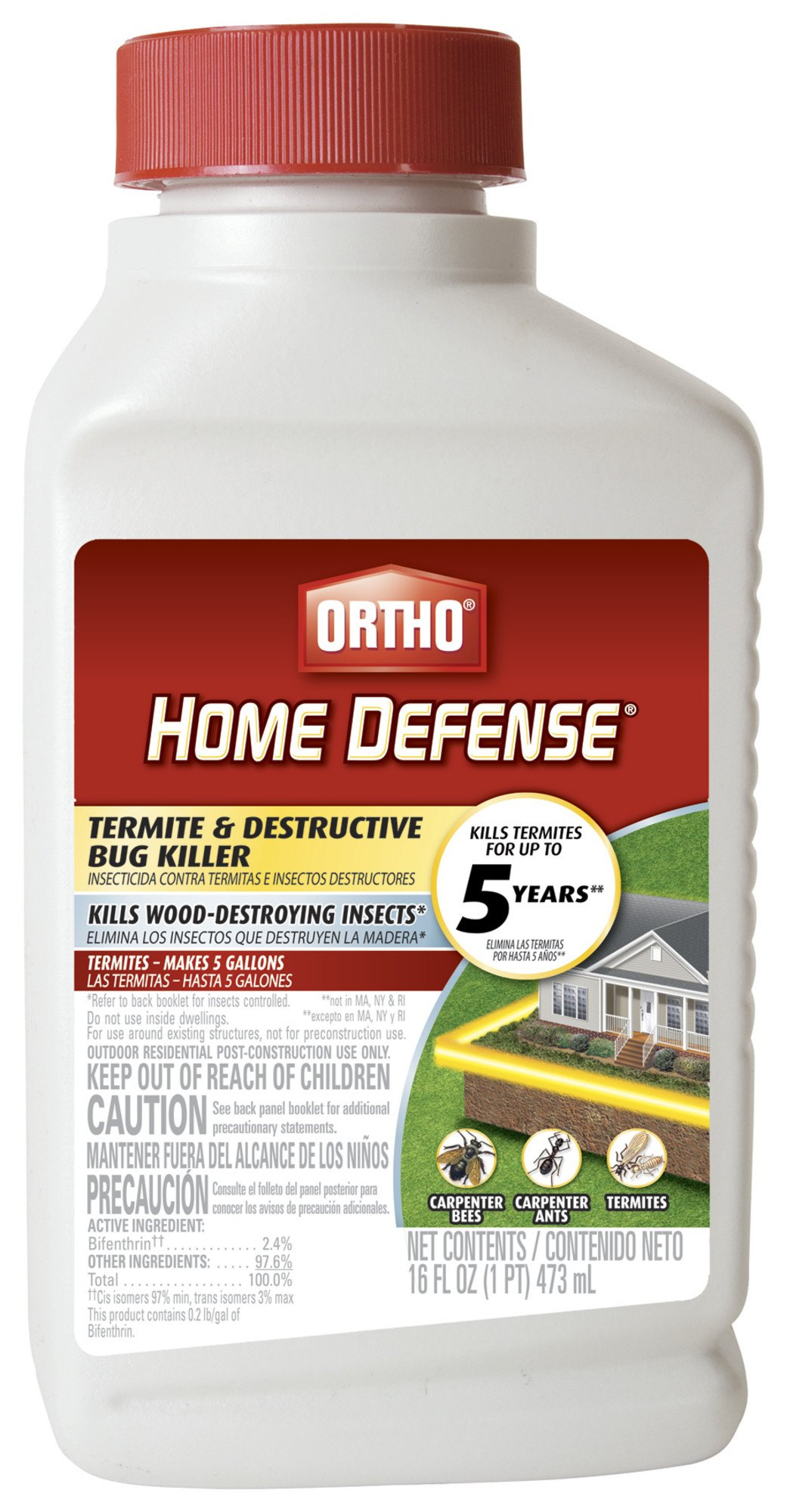 Ortho 0200010 16Oz Conc Termite Killer