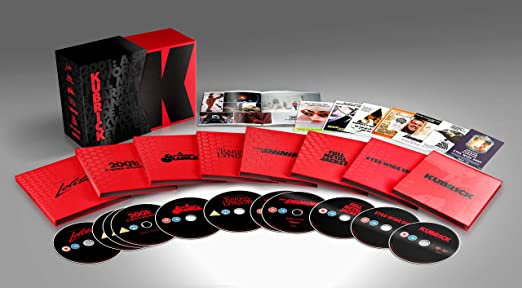 Stanley Kubrick Limited Edition Film Collection Blu Ray