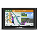 Garmin Drive 61 USA LM GPS Navigator System with Lifetime Maps, Spoken Turn-By-Turn Directions, Direct Access, Driver Alerts,