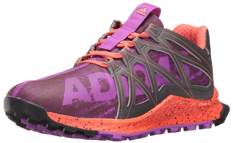 adidas Women's Vigor Bounce W Trail Runner B01H7YHC7A 6 B(M) US|Shock Purple/Night/Easy Coral