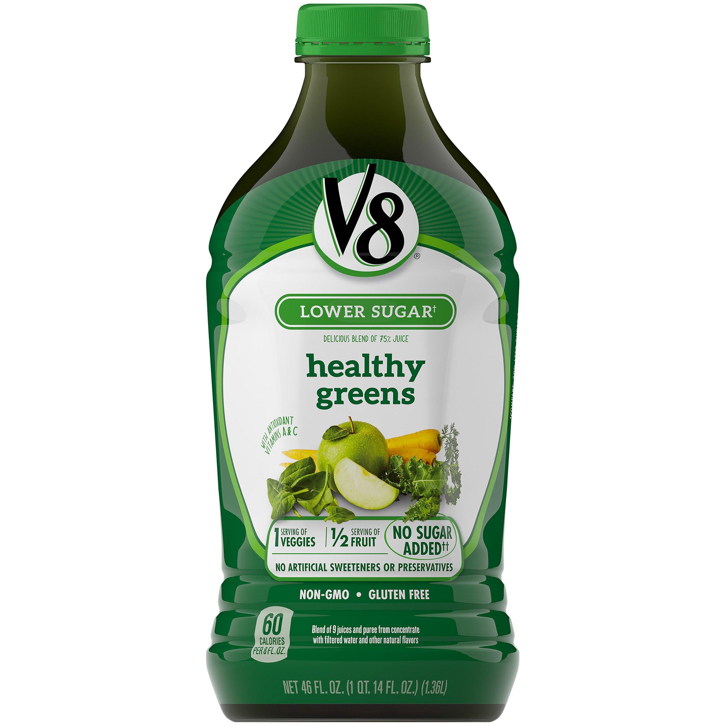 V8 Healthy Greens, 46 oz. Bottle by V8