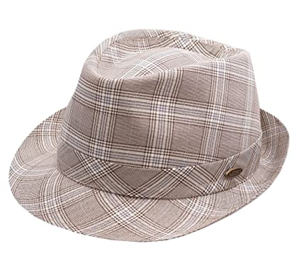 47c949507 Flechet - Trilby Hat men Dormeuil - Size 61 cm: Amazon.co.uk: Clothing