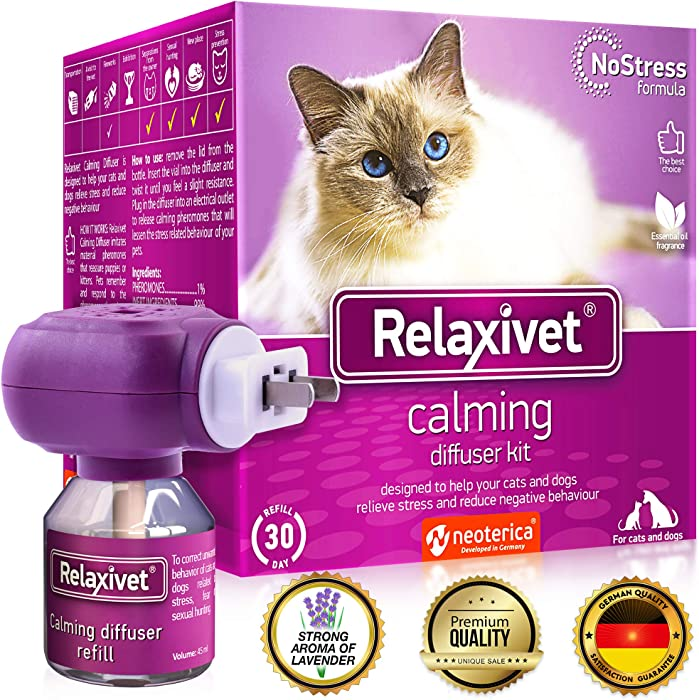 The Best Nature Vet Organics Calm Down For Cats