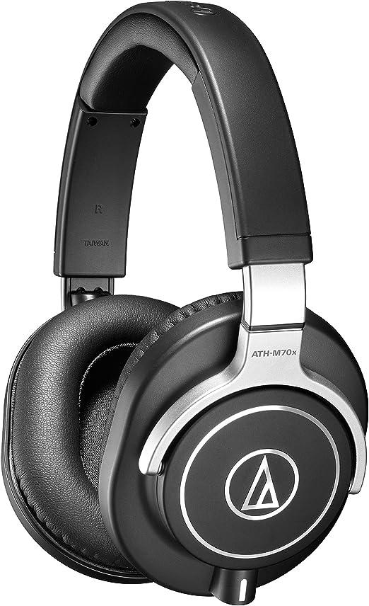 Audio-Technica ATH-M70x Closed-Back Dynamic Professional Studio Monitor Headphones: Amazon.com.au: Musical Instruments