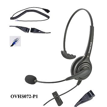 Call Center Headset for AASTRA, Allworx, Altigen, Avaya, NEC, Nortel  meridian, Norstar, PolyCom,