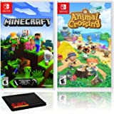 Minecraft + Animal Crossing: New Horizons - Two Game Bundle - Nintendo Switch