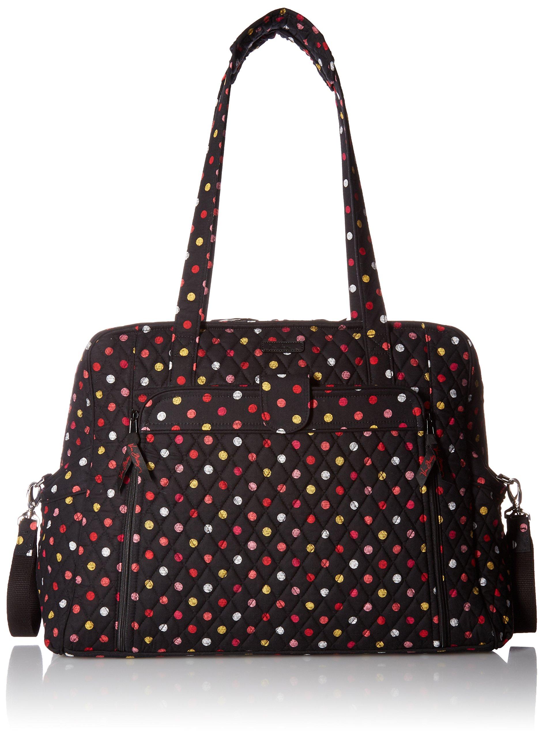 Vera Bradley Large Stroll Around Baby Bag, Havana Dots