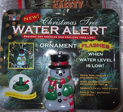 How Often To Water Christmas Tree.Amazon Com Christmas Tree Water Alert Home Kitchen