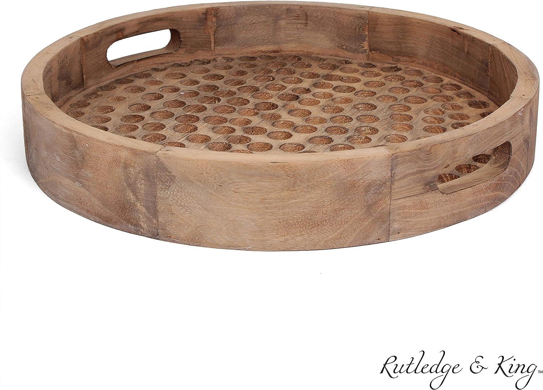- Amazon.com: Rutledge & King Brighton Serving Tray - Ottoman Tray