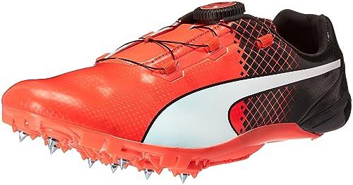 0fa78b903967 PUMA Men s Evospeed Disc Tricks Track Shoe