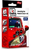 H&A QUALITY Headlight Restoration Kit, Car Headlights Lens Detailing Cleaning Wipes with UV Protectant Clear Top Coat…