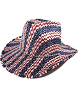 Western Hat / Proud To Be An American / Red White & Blue