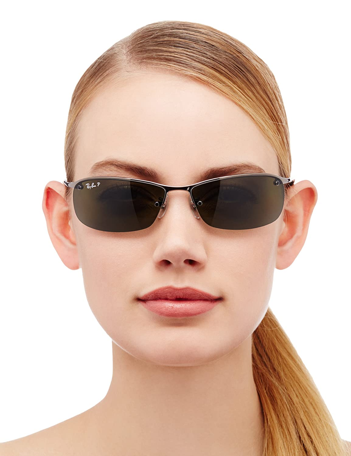Ray Ban RB 3183 63 004/9A Rb 3183 Sport Sunglasses 63, Gunmetal: Ray Ban:  Amazon.co.uk: Clothing