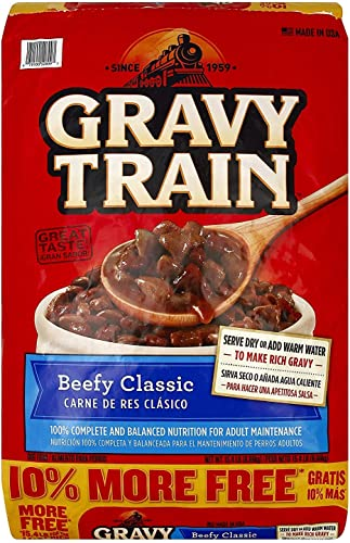 Gravy Train Beef Classic Bonus Dry Dog Food