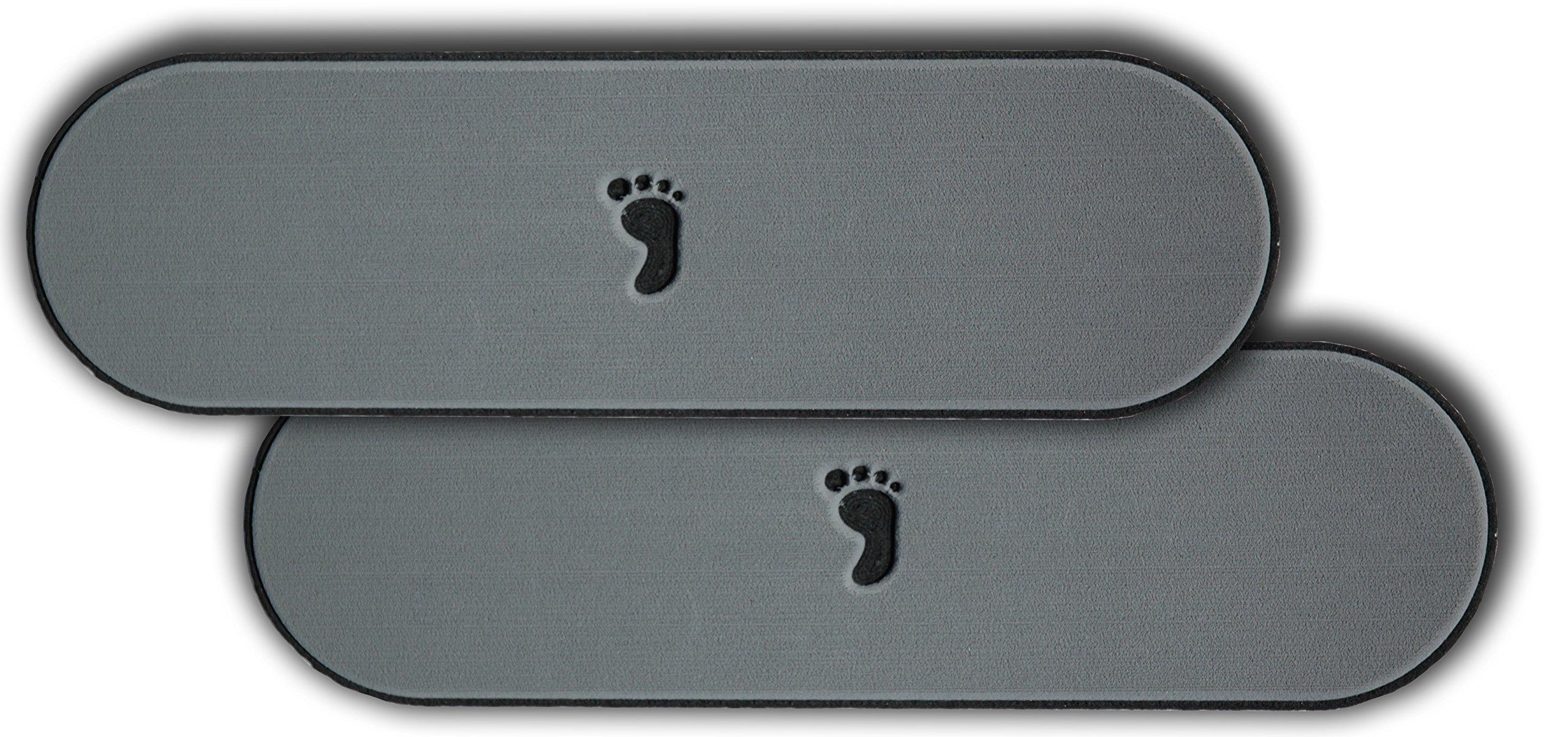 2-Pack of Evateak Anti-Slip Gunnel Pads 18''x 4'' - Gray