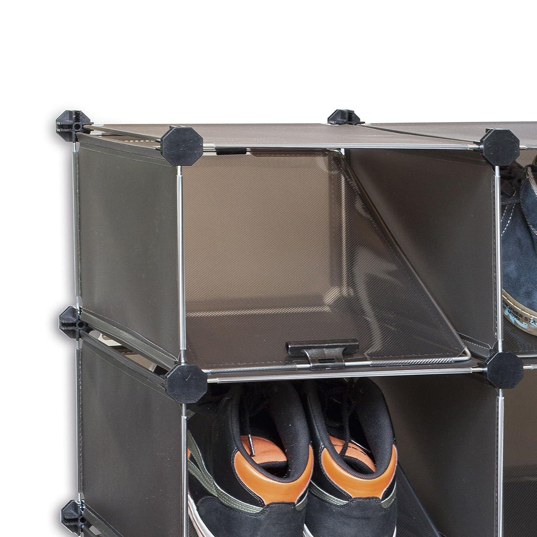 Schoenenkast 15 Cm Diep.Deluxa Modulaire Schoenenkast 16 Paar Amazon Co Uk Kitchen Home