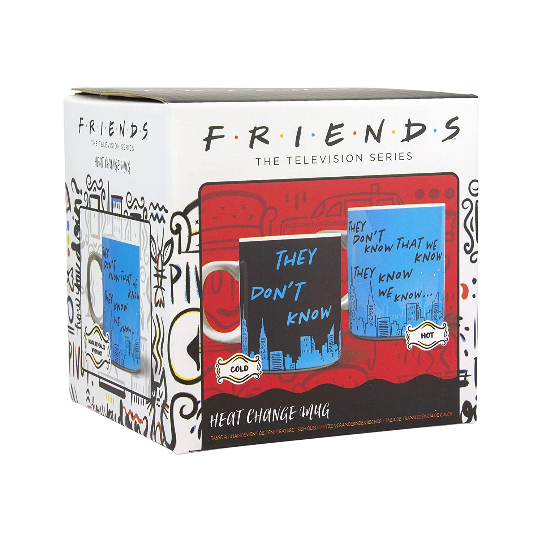 Paladone Friends TV Show They Dont Know Heat Change Mug