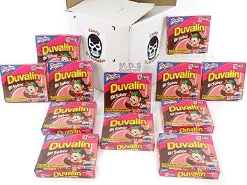 amazon com mexican candy duvalin ricolino bi sabor avellana y rh amazon com