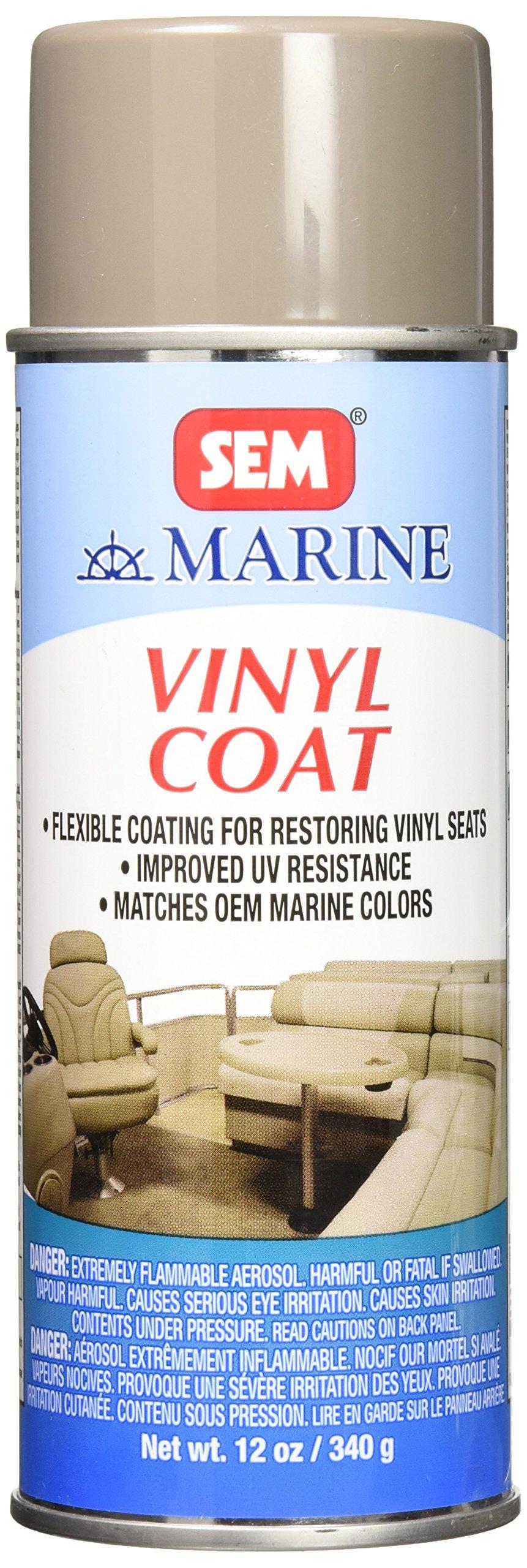 SEM M25163 Ranger Beige Marine Vinyl Coat - 16 oz.