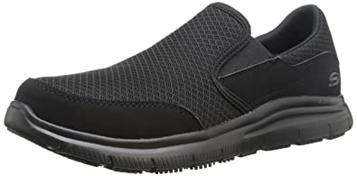 Skechers for Work Mens 77047 Workshire Corpus Steel Toe Work Shoe  W0ZEWN8M2