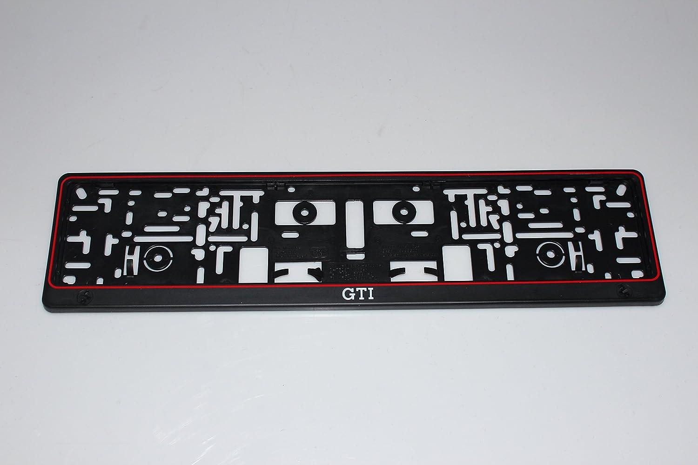 Kennzeichenhalter GTI: Amazon.de: Auto